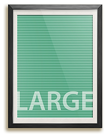 Large project pricing frame size