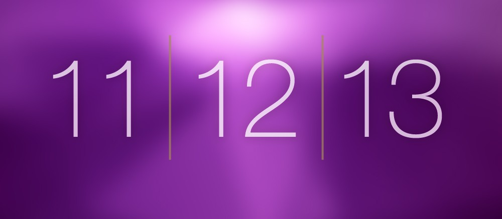 Today's date will probably pass most people by