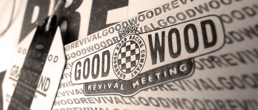 goodwood revival historic motorsport and aviation event sepia image, goodwood revival logo, sepia