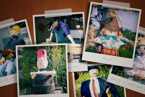 scarecrow, scarecrow safari, designer scarecrows