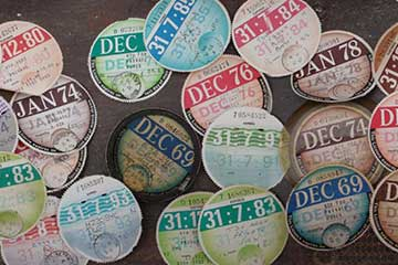 disc, perforated, colour, deter fraud, holograms, expiry date